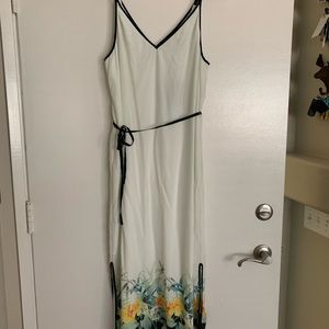 Tommy Bahama L Silk Maxi Dress Floral